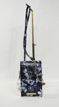 Brahmin Madison Leather Small Phone Crossbody / Shoulder Bag  in Navy Ma... - $149.00
