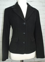 LL BEAN Wool/Angora Soft Blazer Jacket Women's Coat Size S Small Lined B... - $88.61
