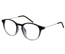 EBE Reading Glasses Womens Mens Round Horned Rim Acetate Stainless Steel - $26.09+