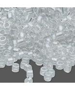 Miyuki Delicas 11/0, Shim Silver Gray 271, 50g bag of glass delica beads - $14.50