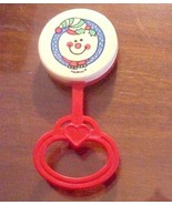 Christmas Snowman Baby Rattle PlaySkool 1989 - $5.00
