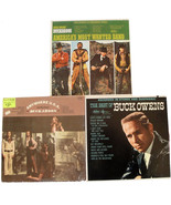 Set of 3 Buck Owens Country Music LP Album Vinyl Most Wanted, Best Of, A... - $24.99
