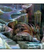 Haunted Great Blue Water QUEEN Dragon Spirit POWER bead Money desire mat... - $26.31