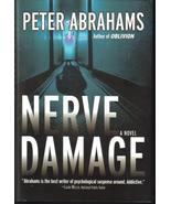 Nerve Damage, A Novel - Peter Abrahams  New HCDJ - $7.99