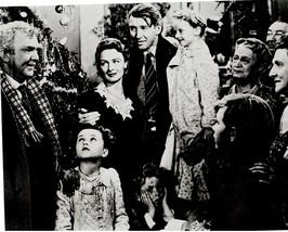 It's A Wonderful Life QP Stewart Reed Christmas 8X10 BW Movie Memorabili... - $6.99