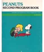 Peanuts Second Program Book Rare Piano Book June Edison - $5.50