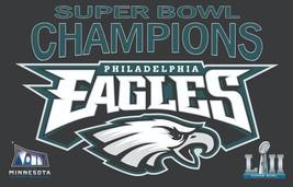 2018 Super Bowl LII Champions Philadelphia Eagles Men's T-Shirts Sizes (S - 4XL) - $24.74