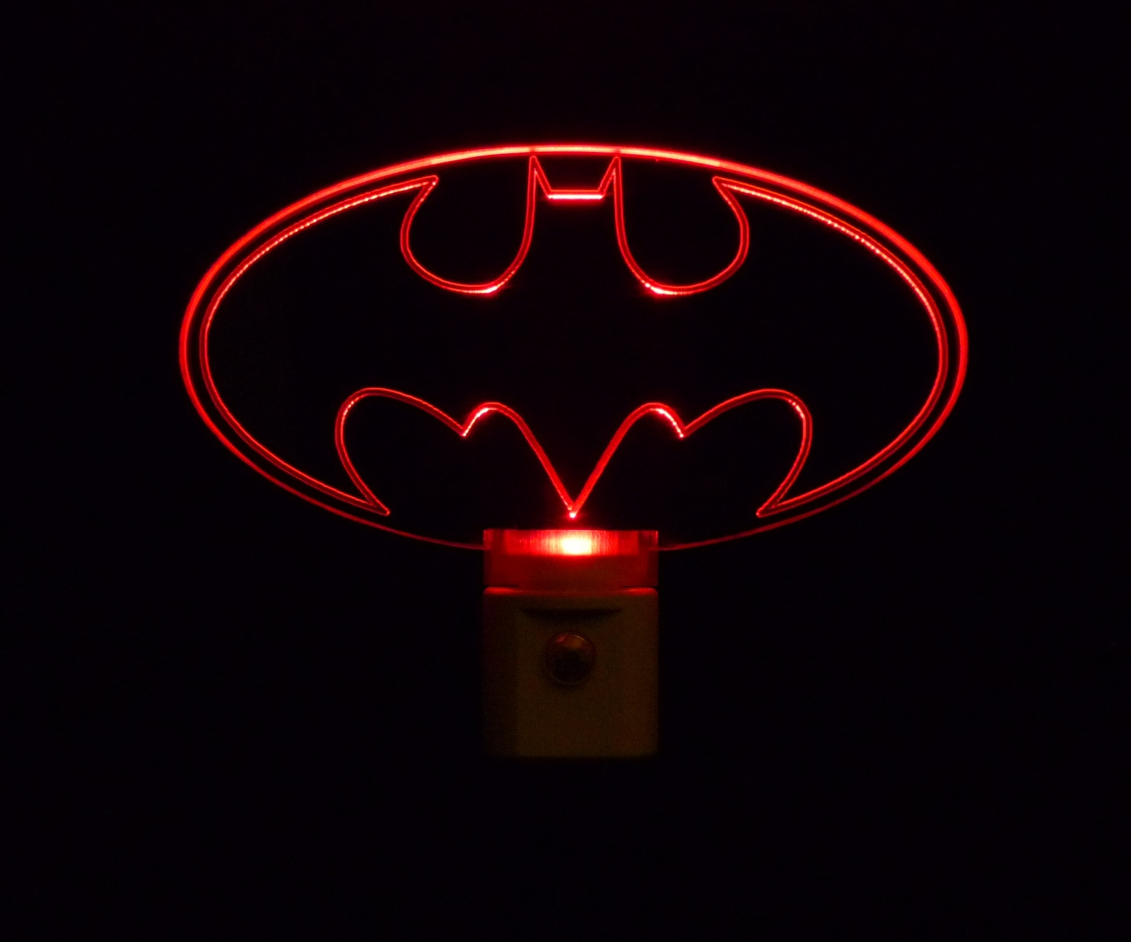 Batman LED Night Light, Great Batman Lover Gift, By Unique LED Products