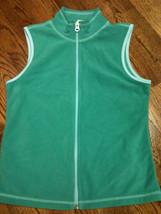 Girls Old Navy Green Velour Lightweight Vest - Size XL (14) - NWOT - $10.45
