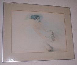 "1970's R.C Gorman Navajo ""The Dancer"" Native Indian Woman Art Print - $700.00"