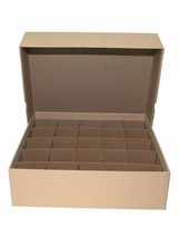 Guardhouse Large Dollar-Tan, Heavy Duty Coin Tube Box  - $17.99