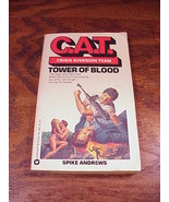 C.A.T. Crisis Aversion Team Tower of Blood No. 1 Paperback Book by Spike... - $6.95