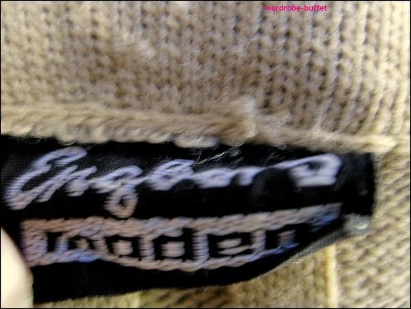 ENGLERS Women's Beige Ribbed Vest Sleeveless Cardigan Jumper Sweater M EUC