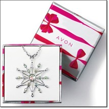 Sparkling Snowflake Necklace  - $13.95