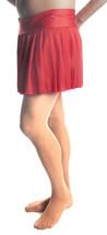"Mens Skirt, Red Pleated Skirt Sexy Style Up To 44"" Waist! Crossdresser/TG - $36.99"
