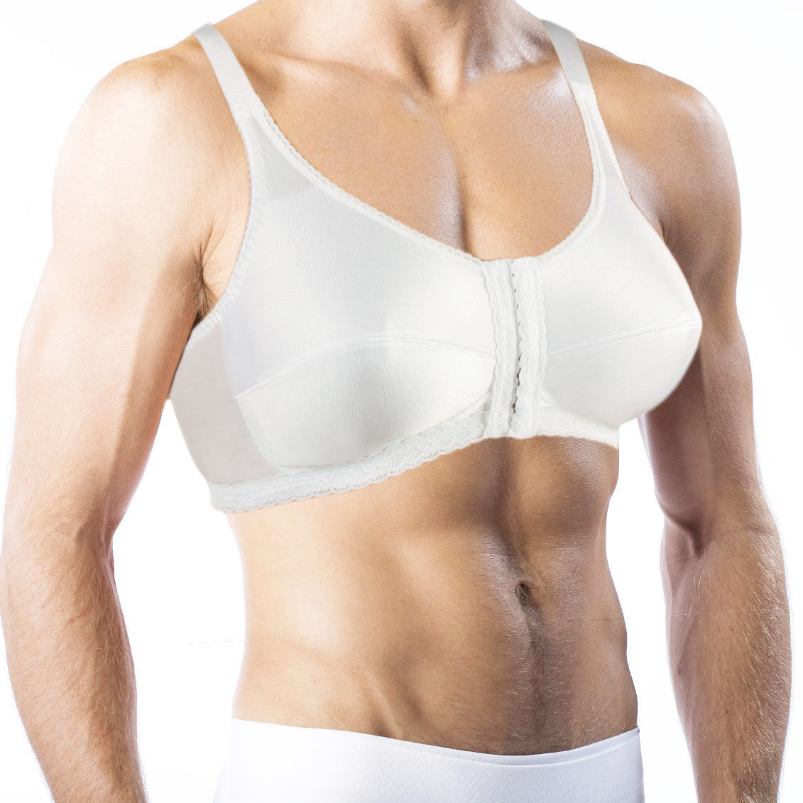 Bra For Men. Holds Silicone Breast Forms! Crossdressing