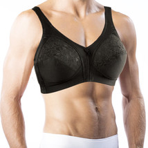 Bra For Men. Holds Silicone Breast Forms! Crossdressing, Transgender #792 - $39.99