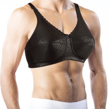 Bra For Men. Holds Silicone Breast Forms! Crossdressing, Transgender #772e - $39.99