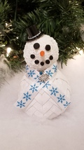 Quilted Fabric Snowman - $10.00