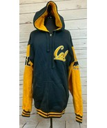 Cal Golden Bears Vintage Zip Hoodie Jacket Sweatshirt Size XL Blue & Gol... - $55.55