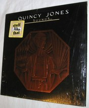 QUINCY JONES SOUNDS AND STUFF LIKE THAT 1978 VINYL LP A&M RECORDS FREE SHIP USA - $11.34