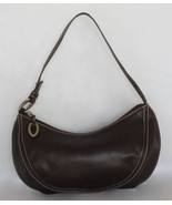 $1300 AUTH Oscar de la Renta brown leather handbag - $94.95