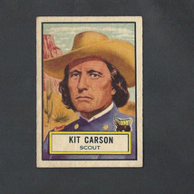 1952 Topps Look 'n See Kit Carson Card #53 Nice!! - $17.99