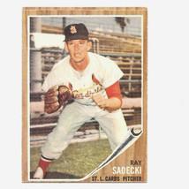 1962 Topps Ray Sadecki Card #383 Very Nice! - $4.99