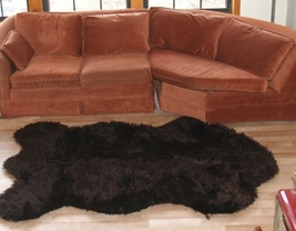 Faux Russian  Brown Bear Rug Large - $149.99