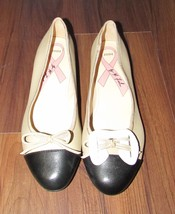 "Marc Fisher Classic Leather Ballet Flats ""Jodi""... - $15.88"