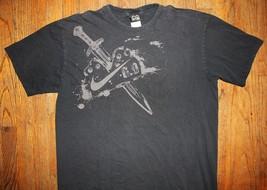 Nike 6.0 / Usa / Sword / Logo / Black T-SHIRT Size Xl - $14.99