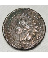 1867 Indian Cent VG Details Coin AE165 - $43.47