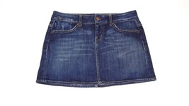 GAP Limited Edition Retro Womens Ladies Jean Denim Skirt Size 6 Comfy Di... - £15.91 GBP