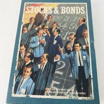 Vintage 1964 3M Stocks and Bonds Bookshelf Board Game Good Condition - Complete - $36.33