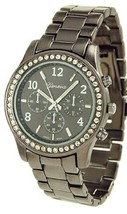 Geneva Platinum 12907312 Women's Decorative Chronograph Rhinestone-accen... - $34.99