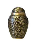 Antique Butterfly Small Keepsake Urn for Ashes, Memorial Cremation Urn - $39.99