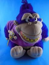 """Vintage Maurice The Gorilla & Marsupilami Plush 10"""" Sitting Applause HTF... - $39.59"""