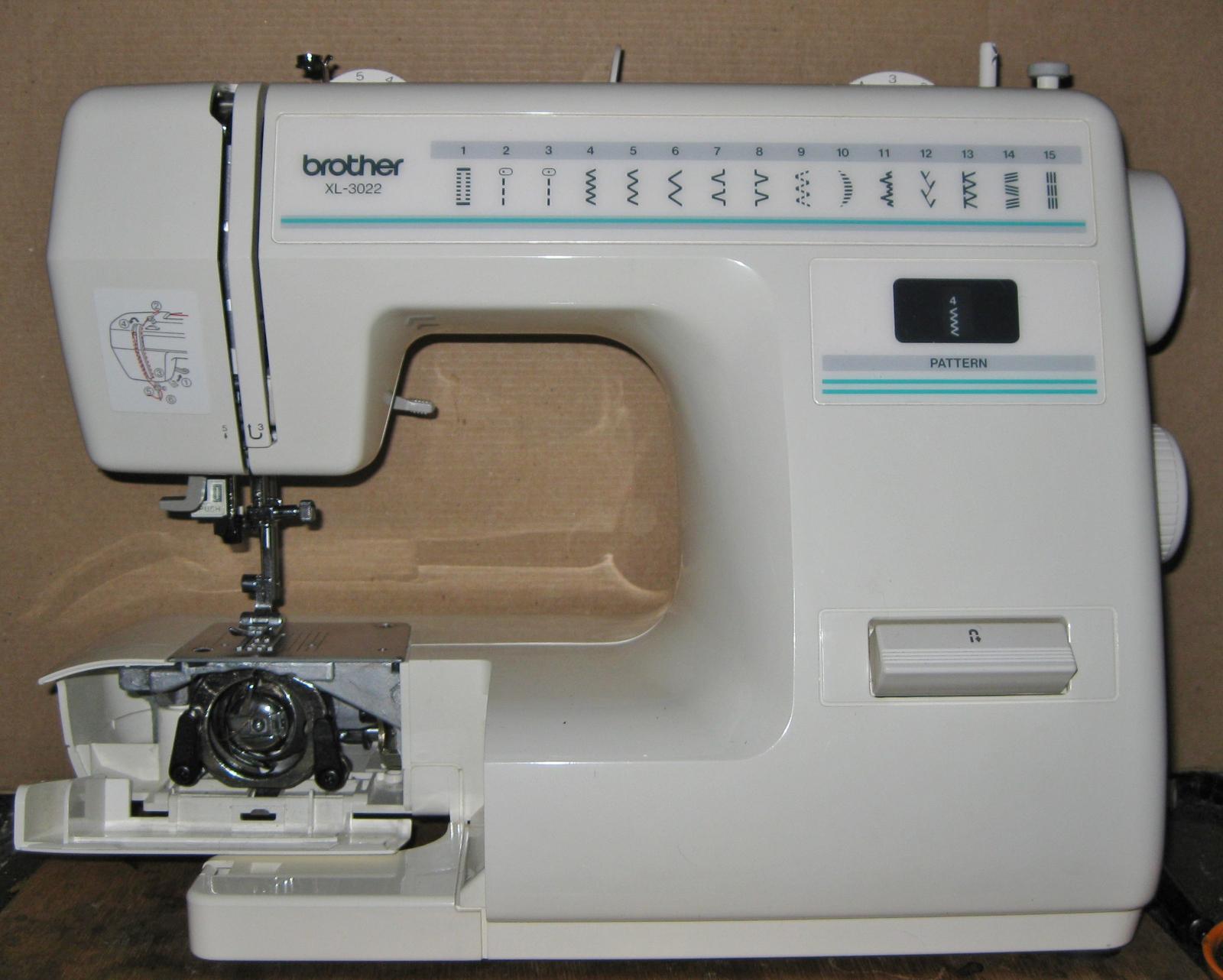 Brother XL-3022 Horizontal Spool Pin w/Spool and 50 similar
