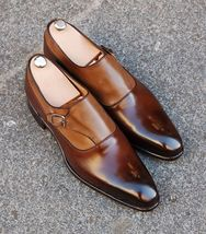 Handmade Men Wingtip Two tone formal shoes, Men leather dress shoes, Dress shoes - $144.99+