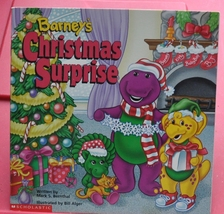 Children Book - Lesson in Giving - Barney The Purple Dinosaur Christmas Surprise - $3.00