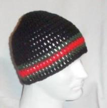Hand Crochet ~ Men's Skull Cap Beanie Hat *ucci Celebrity Chemo Unisex - $24.75