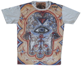 I2 Men T Shirt  Mystery Eye Providence S Hiwa Zen Hippie Peace Hobo Boho L Mirror - $18.80