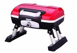 Portable Gas Grill Red Petite Gourmet Tabletop Picnic Tailgate Beach RVi... - £92.42 GBP