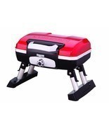Portable Gas Grill Red Petite Gourmet Tabletop Picnic Tailgate Beach RVi... - $123.99
