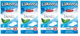 Läkerol (Lakerol)  Dents Menthol Swedish Xylitol Candies 36g * 4 pack 5 oz - $12.87