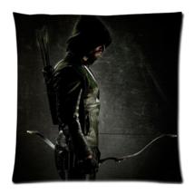 Green Arrow Zippered Pillow Cases 18x18 (Twin s... - $15.99