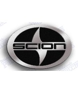 SCION - AUTO CAR IRON ON EMBROIDERY PATCH = 2.3 X 1.7 INCHES - 100% EMBROIDERED - $6.50
