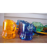 Beer Mugs Shot Glasses w String Tie Necklace Set of TEN (10) incl 2 Jose Cuervo - $16.99