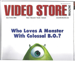 Video Store Magazine Features Movies Monsters Inc.,The Mummy, 2002 Colle... - $39.99