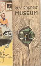 ROY ROGERS MUSEUM 1960s 1970s Brochure Dale Evans Apple Valley Californi... - $59.99